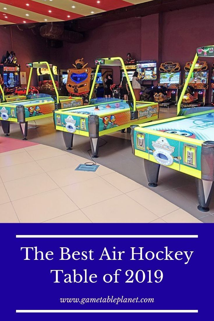 Hathaway Enforcer 5 5 Air Hockey Table Review Air Hockey Air Hockey Table Air Hockey Games