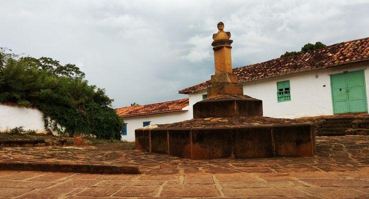Barichara Santander  - Monumento a Bolívar