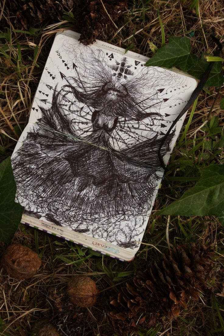 △△△   Psiche   △△△        #metamorphosis #woman #youth #love #younglove #lovers #psiche #apuleio #amoreepsiche #canova #dark #darkversion #illustration #black #project #extasis #Firenze #crazy #love #sketchbooks #sketchbook #ink #Sun #Dream #Dreamsun #Moon #Shidrawing #SHI #workit #printmaker #hair