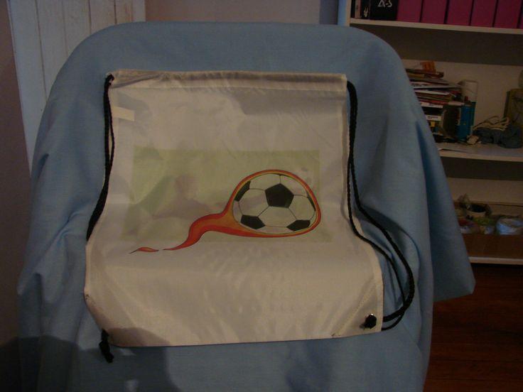 Personalise a swim/gym bag