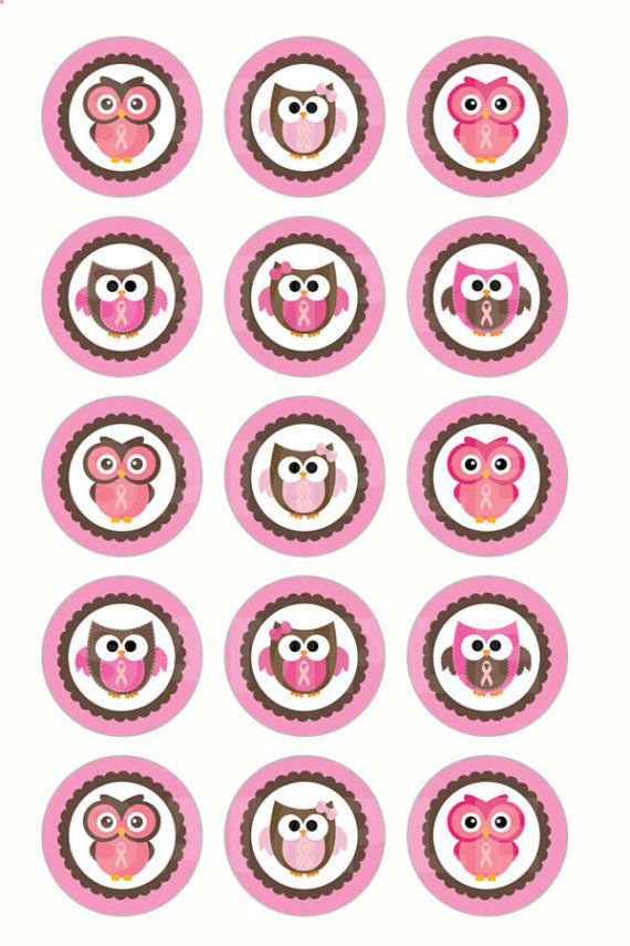 INSTANT DOWNLOAD  Breast Cancer Owl Bottle Cap by DigiPrintz, $1.25  https://www.etsy.com/listing/111424589/instant-download-breast-cancer-owl?ref=sr_gallery_15&ga_order=date_desc&ga_view_type=gallery&ga_page=57&ga_search_type=all