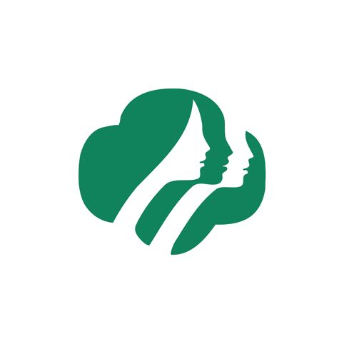 I have always really liked this Girl Scout logo. I like how the image appears to be various diverse but equal girls united together as scouts. Also they are together in what appears to be the shape of a Girl Scout's cookie. Girl Scouts _ Saul Bass (1978)