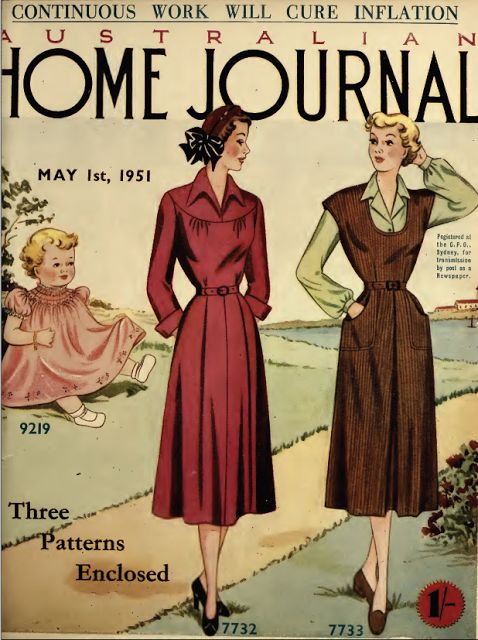 lots of FREE vintage patterns!