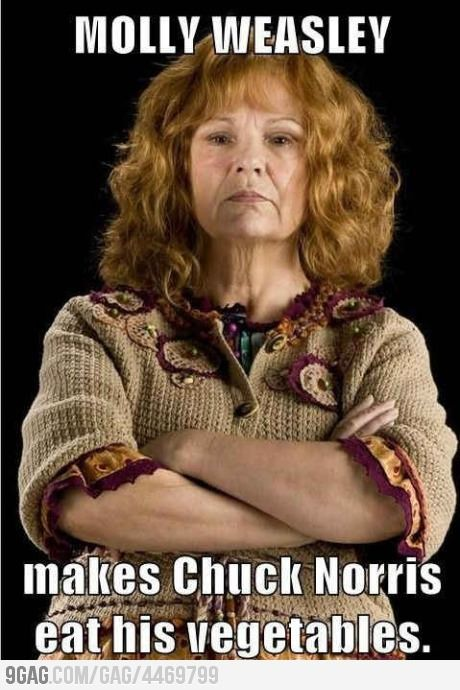 Just awesome Molly Weasley