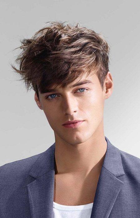 I really adore this short hairstyle… #mediummenshairstylesstraight