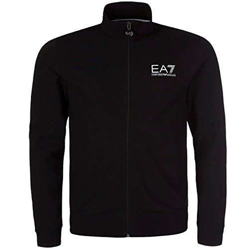 Emporio Armani Armani EA7 Black Zip Up Sweatshirt Medium FW16-17 - EA7 Emporio Armani sweatshirt men, model 6XPM54-PJ05Z-1200, color black, printed logo 100% cotton. (Barcode EAN = 8056685948641). http://www.comparestoreprices.co.uk/december-2016-5/emporio-armani-armani-ea7-black-zip-up-sweatshirt-medium.asp