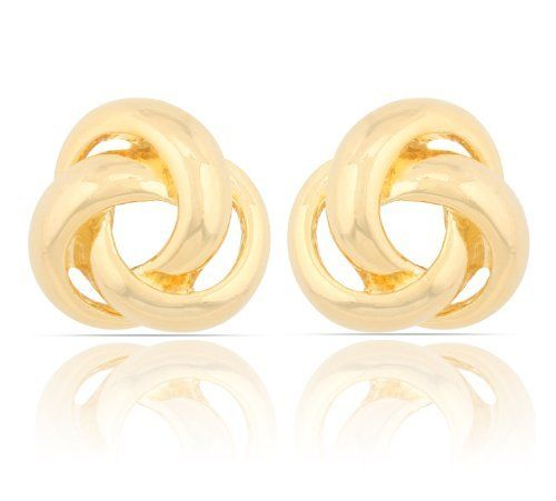 JanKuo Jewelry Gold Tone Shinning Polished Knot Clip On Earrings Ship in Gift Box. JanKuo Jewelry. $18.99. Birthday, Wedding, Anniversary Gift Idea. Knot Clip On Earrings. Gold Tone. JanKuo Jewelry. Shinning Polished