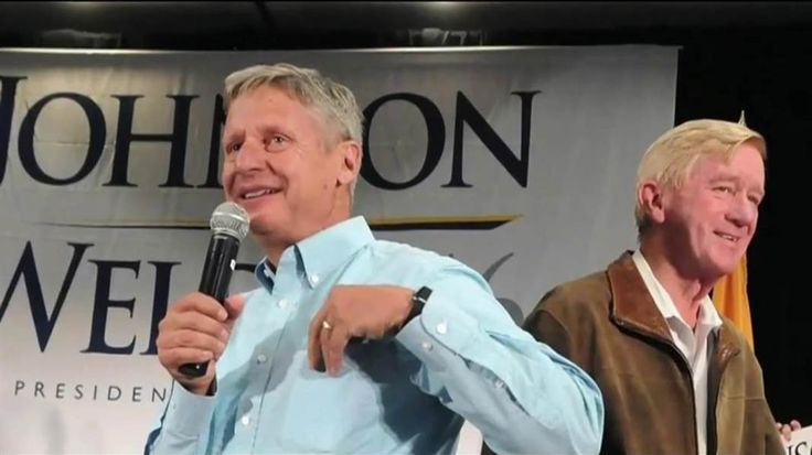 The 2016 Libertarian ticket, Gary Johnson and Bill Weld, talk about their positions on climate change and what role they think the federal government has in protecting the environment.