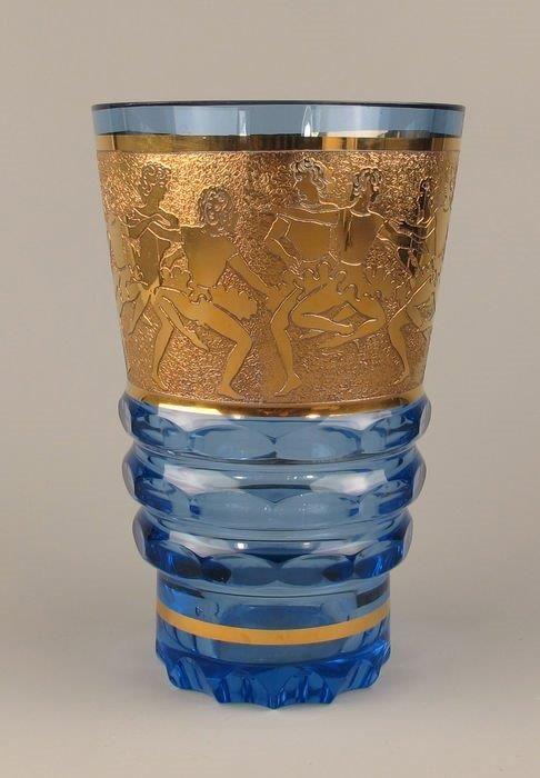 Bohemen glas moser  1940 /1950