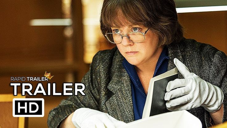 CAN YOU EVER FORGIVE ME? Official Trailer (2018) Melissa McCarthy Movie HD - YouTube