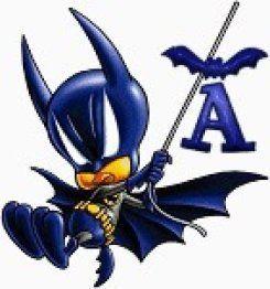 Alfabeto de Batman en caricatura.