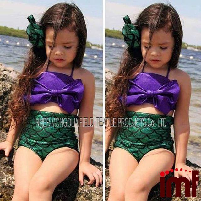 Sirenita Niños Niños Niñas traje de Baño Bikini traje de Baño Beach Swim Wear-en Vestuario de natación y playa de Ropa Deportiva en m.spanish.alibaba.com.