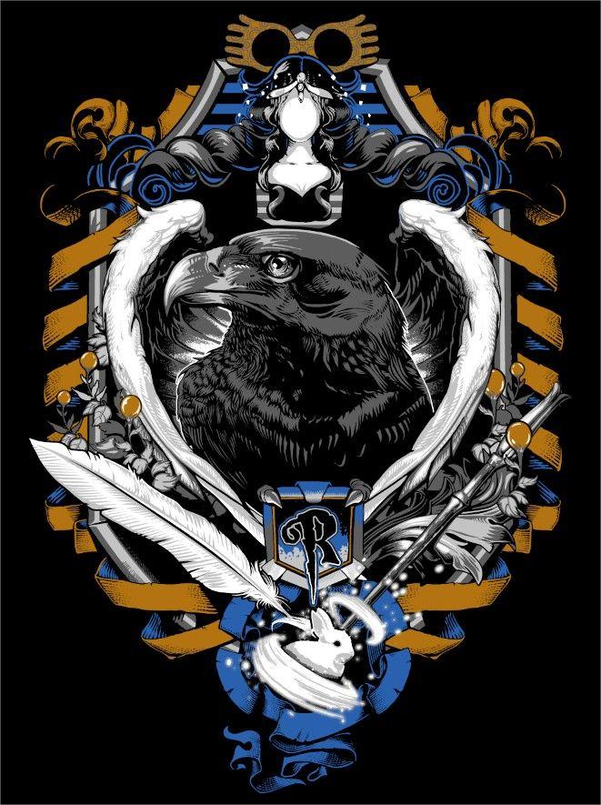 Ravenclaw Crest by jimiyo.deviantart.com on @DeviantArt