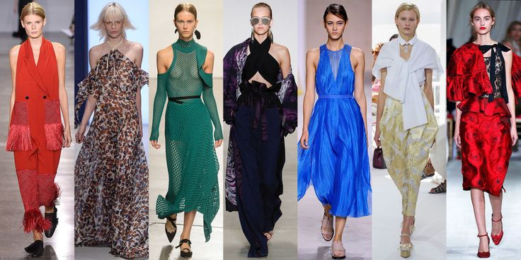 A popular trend for Spring 2016 is 70's inspired suede. If you thought the fashion pack was done with its '70s-inspiration love affair, you'd be wrong. Jonathan Saunders, Alberta Ferretti, Rebecca Minkoff, and Olivier Rouesteing all sent pieces made of suede down the runway, one of the decade's most-loved fabrics.Trisha C.