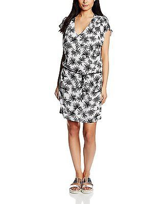 Manufacturer's size: XS, Optical White, Rip Curl Oasis Palm Women's Dress NEW