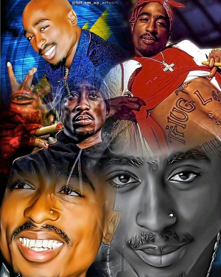 Tupac Shakur Artwork