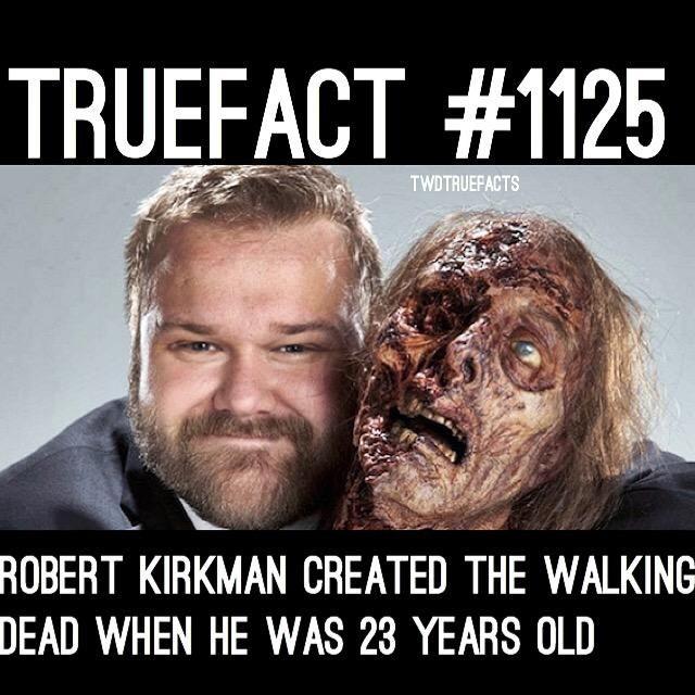 Robert Kirkman. #TheWalkingDead