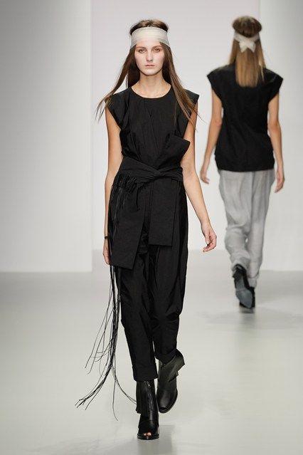 London Fashion Week, SS '14, Haizhen Wang