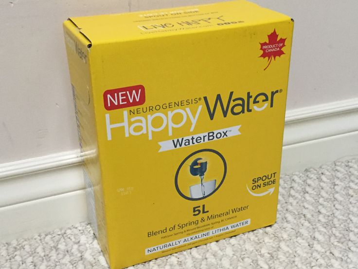 "I was recently introduced to a new brand of spring water called ""Happy Water"". It's actually a blend of spring and mineral water. It cont..."