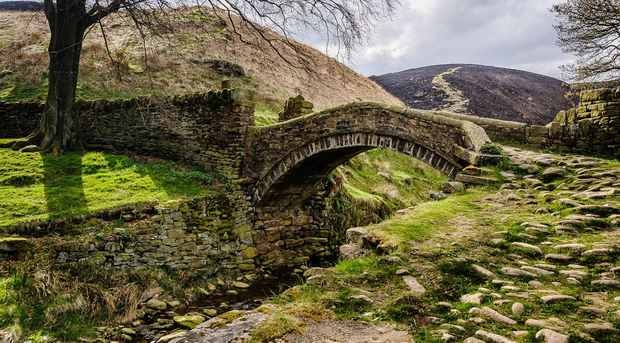 Eastergate Bridge in Marsden, in Huddersfield, Yorkshire   by Gary Stevenson