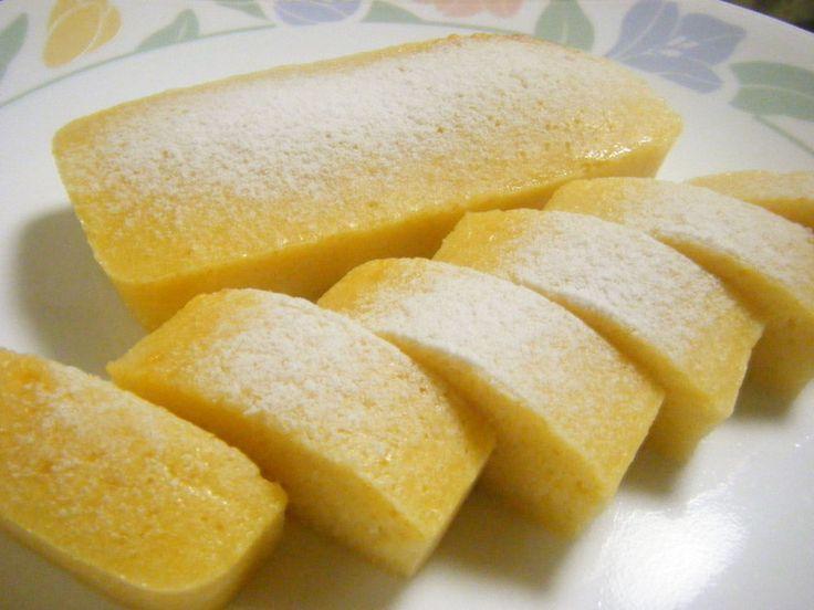 COOKPAD : しっとりチーズ蒸しケーキ