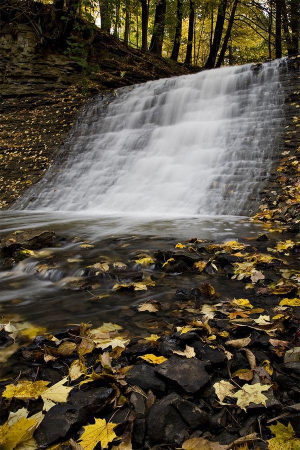 Washboard Falls, Hamilton, Ontario Canada