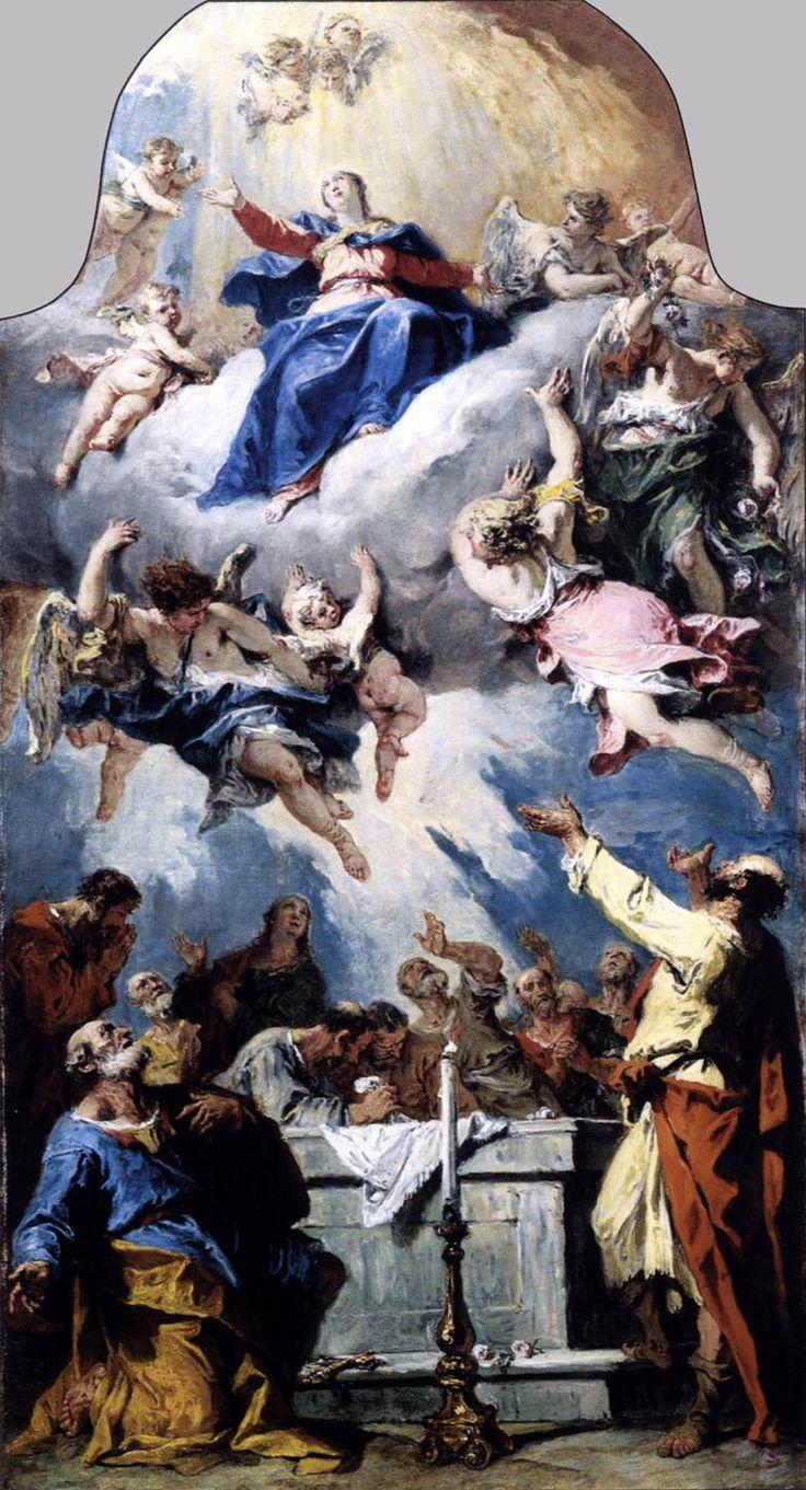 Η Κοίμηση της Θεοτόκου (1731-34)  Μουσείο Καλών Τεχνών Βουδαπέστης