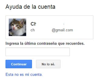 Cómo recuperar tu contraseña de Gmail