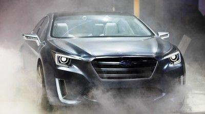 2015 Subaru Legacy Concept Directly Previews Next LGT3