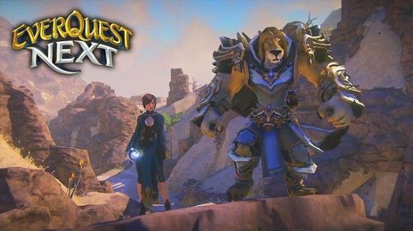 EverQuest Next – стройка в пустыне