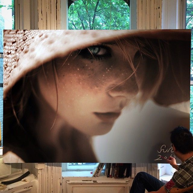 Amazing Art Work In Large-Scale Photorealistic Paintings - iCreatived