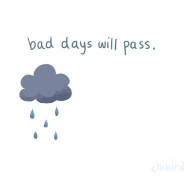 malos días pasarán