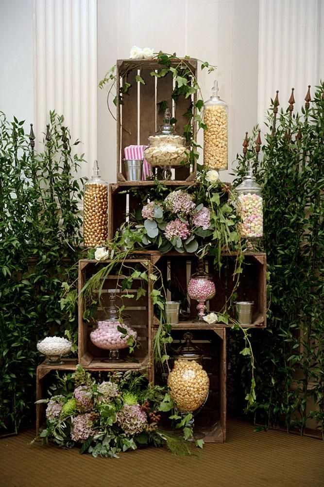 36 Rustic Wooden Crates Wedding Ideas | Wedding Forward  – Emily bridal showers