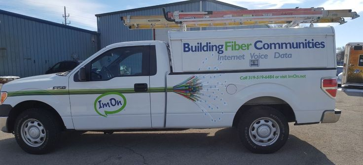 What a beautiful truck we did for ImOn Communications.  Be sure to consider them for your internet services for your home or business.   http://makepeoplelook.com/portfolio-home/vehicle-wraps-lettering/