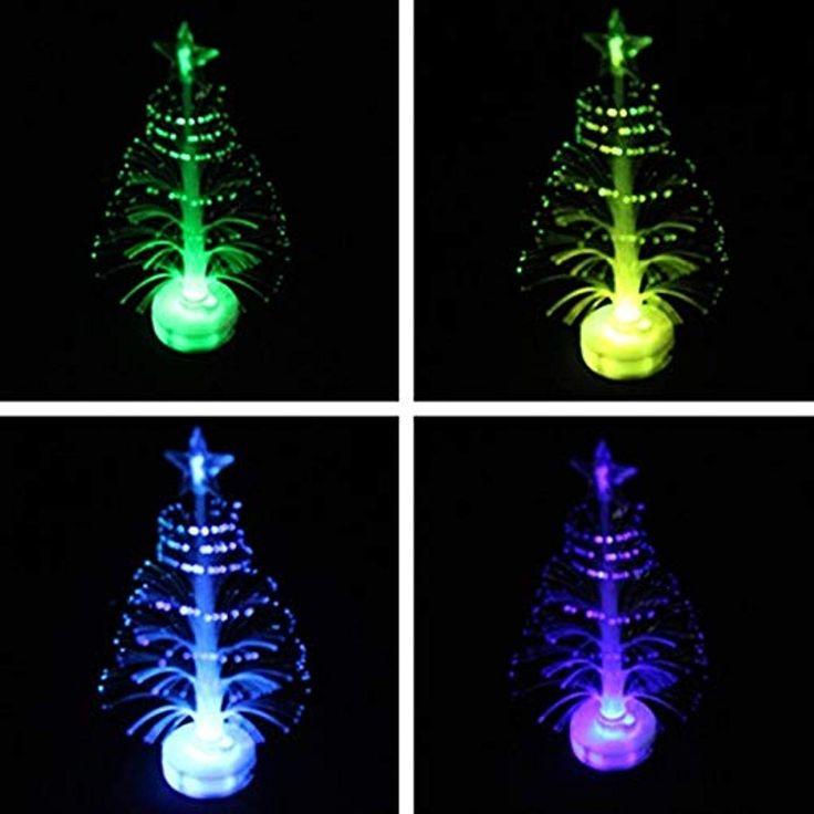Piccole luci di Natale 7 Colori Che cambiano Albero di