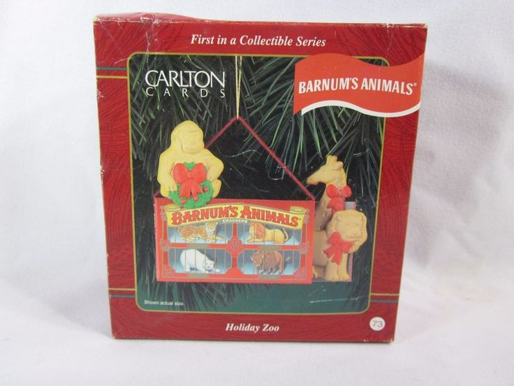 CARLTON CARDS Barnum's Animals Holiday Zoo Ornament #CarltonCards