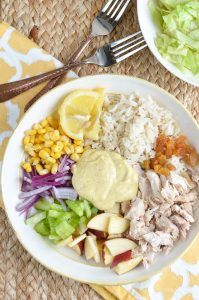 Slimming Eats - Slimming World Recipes Low Syn Curried Chicken Rice Salad Bowl | Slimming Eats - Slimming World Recipes