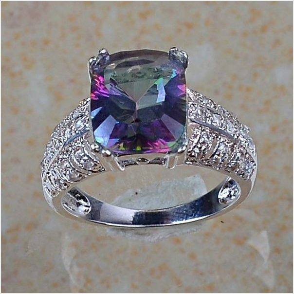 17 Best Images About Mystic Topaz Jewelry On Pinterest