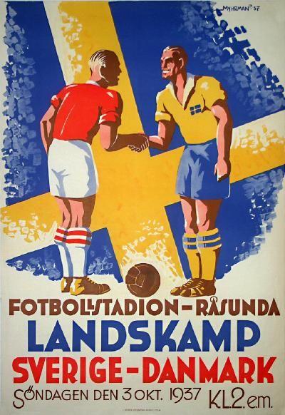 Dansk fodbold 1937 ( Jeg har endelig elsket fodbold igen. Lang losted kærlighed, fodbold! )