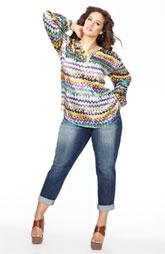 Dora Landa Tunic & KUT from the Kloth Jeans