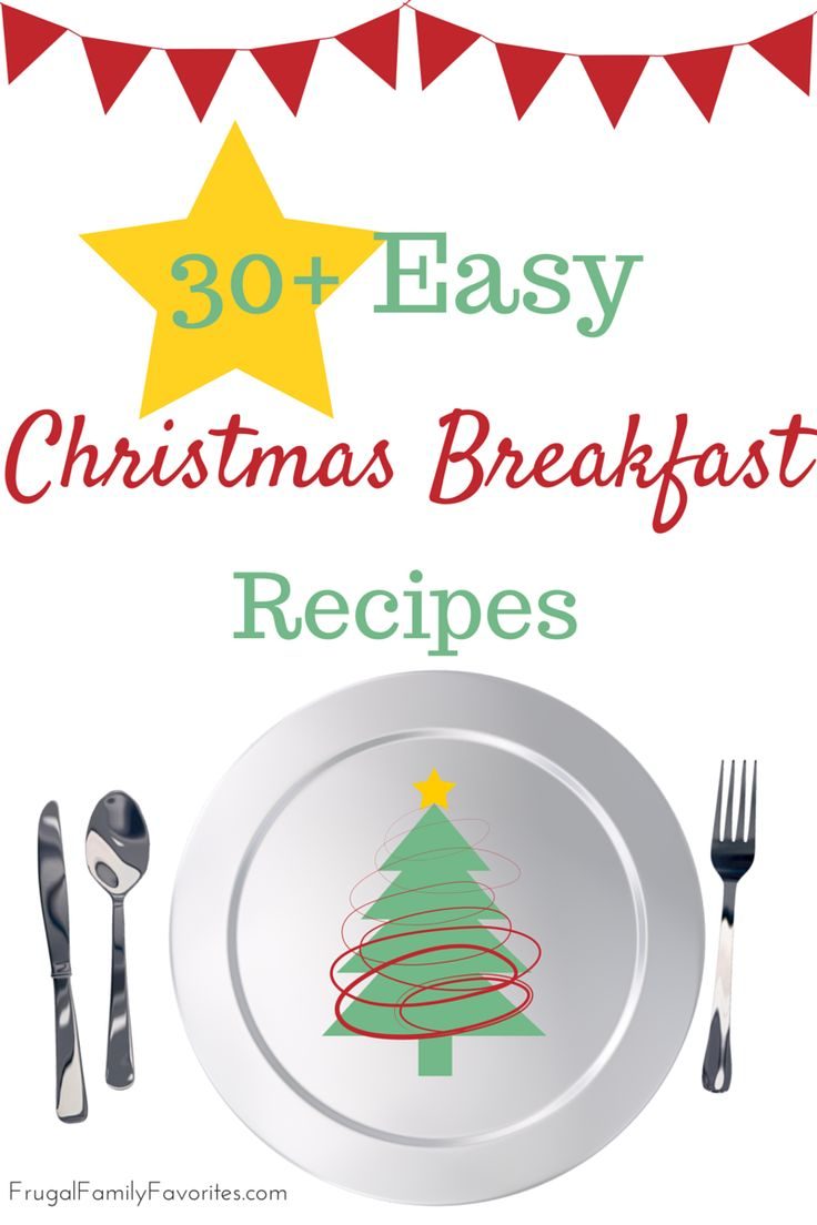 Love this list! Simple but decadent ideas. Use the slow cooker, overnight recipes... Easy Christmas Breakfast Recipes