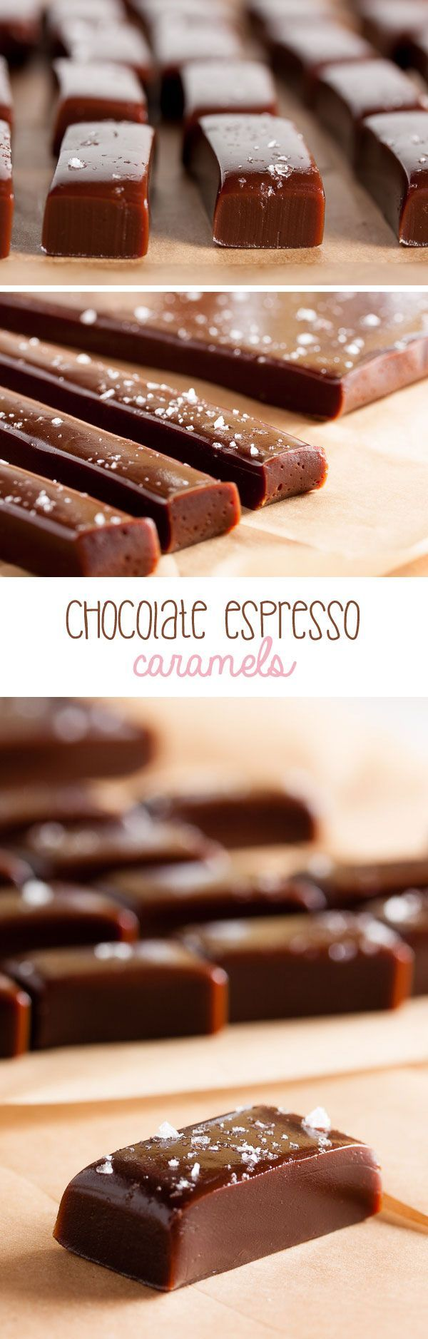 Chocolate Espresso Caramels – combining three wonderful flavours into one delicious treat.