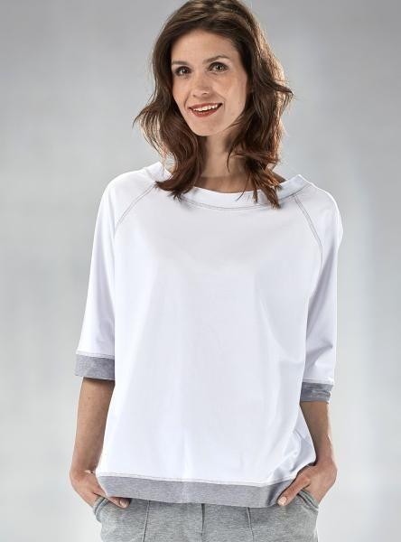 #Bluza #casual #oversize #mapepina #biały #szary #fashionproject #fashion #modern #active #women #streetstyle #styl #ubranie #ciuchy #stylizacja #nowe #warszawa #cute #schön #bluse #blúzka #halenka #chemisier #blus