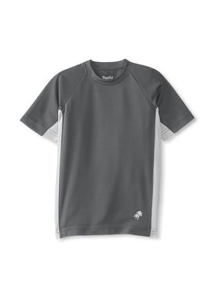 42% OFF Trunks Boy's Swim Tee (Charcoal)