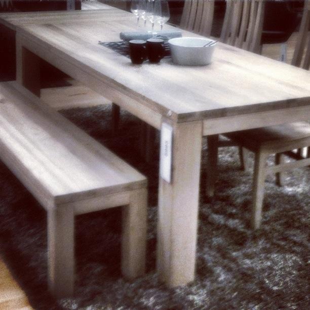 """""""DINNER TABLE & BENCH"""" © fotograf kallen"""