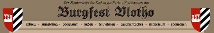 Burgfest Vlotho 17.-18.5.2014