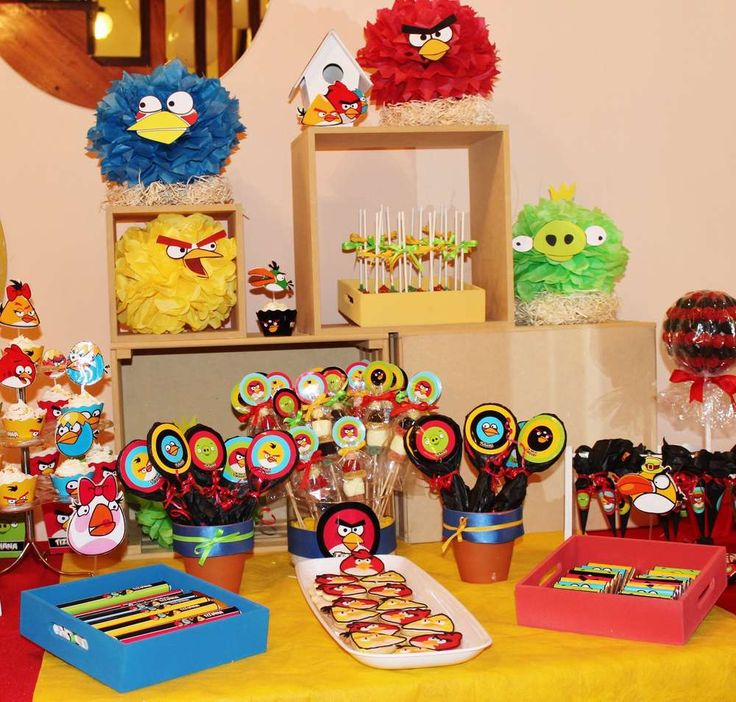 1000 images about angry birds party ideas on pinterest for Angry bird decoration ideas