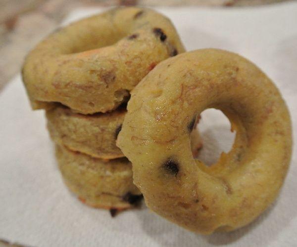 Baked Banana Chocolate Chip Doughnuts (gluten-free, no refined sugar ...