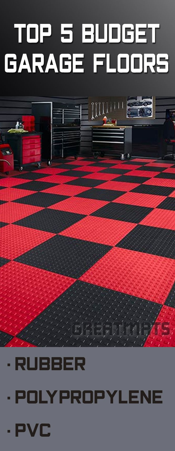 48 best garage flooring images on pinterest check out our top 5 garage floors on a budget blog a durable garage floor dailygadgetfo Gallery