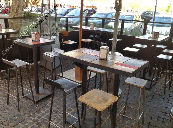 Realizzazione artigianale di tavoli per ristoranti, pizzerie, bar e locali commerciali - Emanuele Pricolo